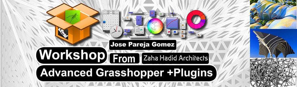 Advanced Grasshopper and Plugins Workshop - Zaha Hadid