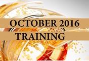 Training October 2016