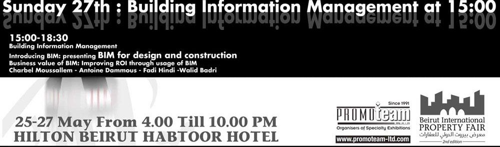 Beirut International Property Fair Exhibition - Hilton Grand Habtoor Hotel