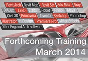 Forthcoming Training   March 2014