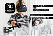 Architecture, Engineering and VR with UNREAL Dubai Workshop (Zaha Hadid)