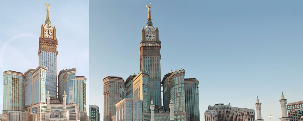 BIM Implementation, Abraj Al-Bait in Mekkah