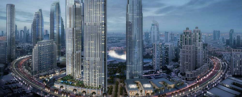 B1B2 Emaar Residential Towers