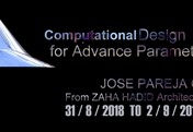 Computational Design for Advance Parametric Architecture